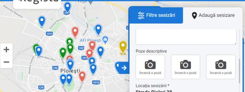 Aplicatie Sesizari Online Regista
